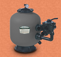 Side mount sand filter kapasitas 57 kubik air perjam