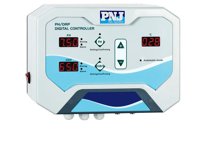 ph controller with dosing pump, swimming pool digital chemicalsb 100; metering pump digital ph controller for swimming pool in denpasar, bali
